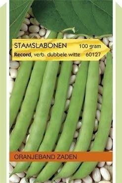 Foto van Stamslabonen Record verbeterde Dubbele Witte Oranjeband