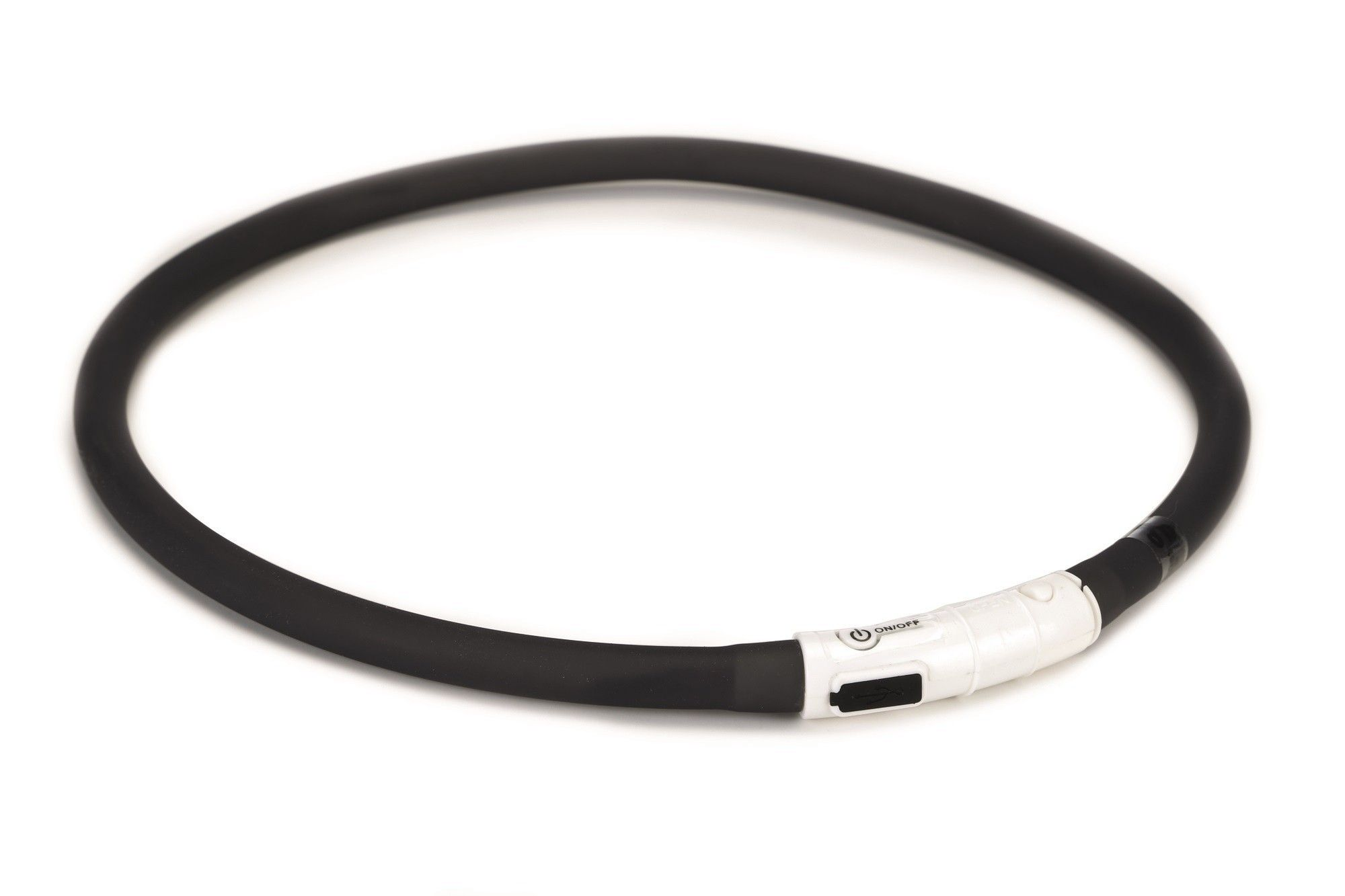 Hondenhalsband Dogini safety collar met USB aansluiting