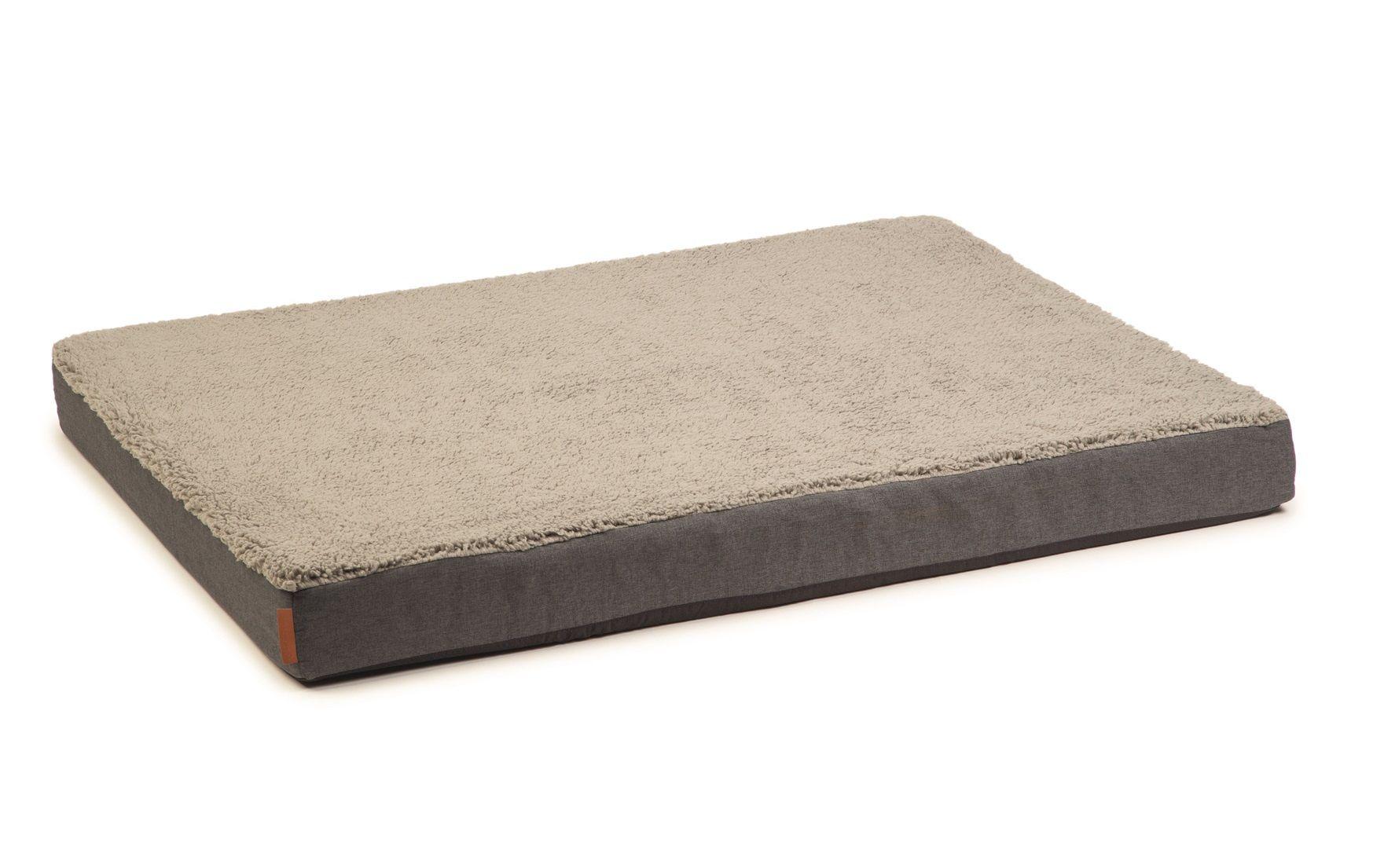 Beeztees Zira Orthopedisch Hondenkussen grijs 100x70cm