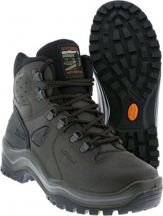 Grisport Sherpa wandelschoen zwart.