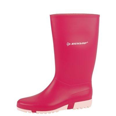 Kinderlaars Dunlop PVC roze