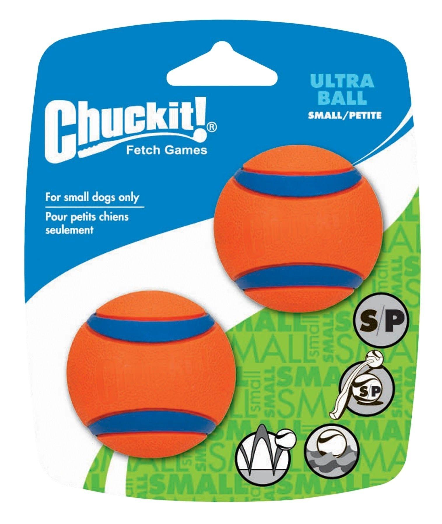 Hondenbal Chuckit Ultra Ball Small 2 stuks
