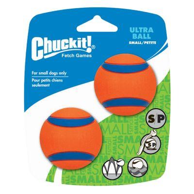Foto van Hondenbal Chuckit Ultra Ball Small 2 stuks