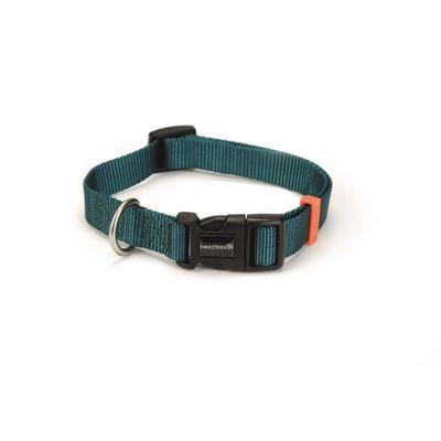 Foto van Hondenhalsband Uni nylon Beeztees donkergroen