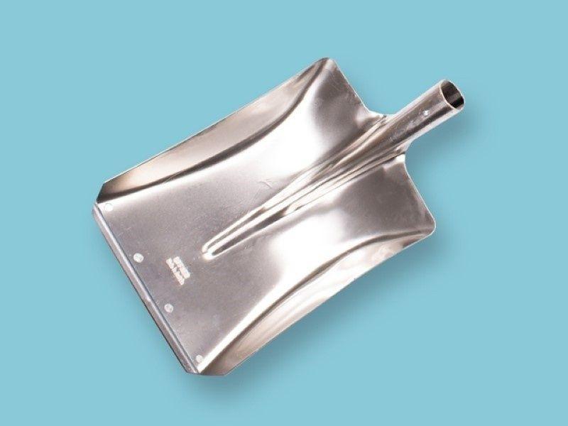 Ballastschop Offner aluminium met slijtstrip