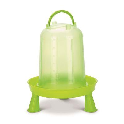 Foto van Kippen drinktoren op pootjes 5ltr groen