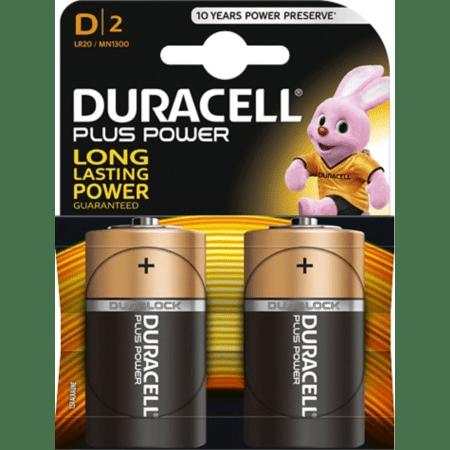 Batterij Duracell D LR20 2 stuks
