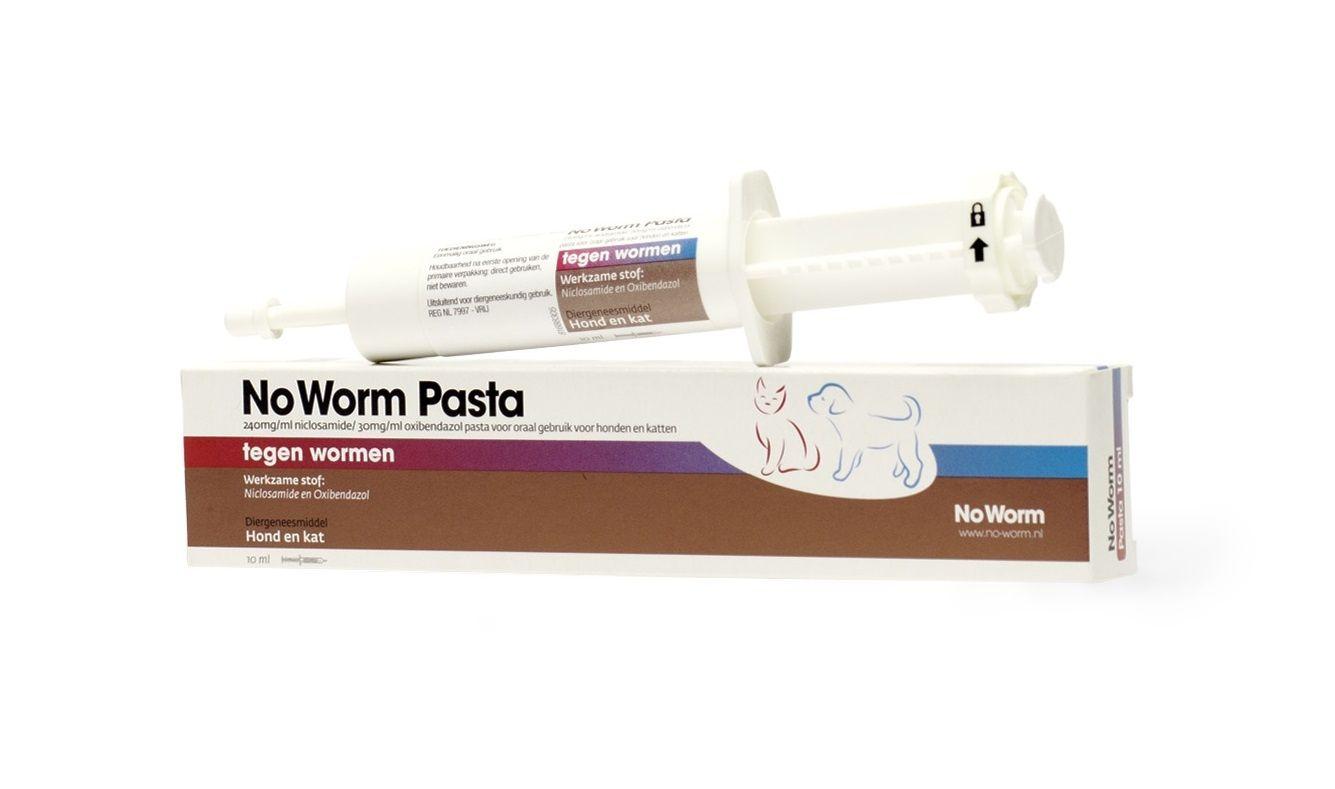 No Worm Pasta hond en kat 10ml