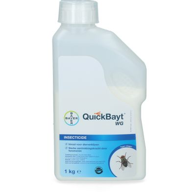 Foto van Quick Bayt Bayer WG tegen vliegen 1kg