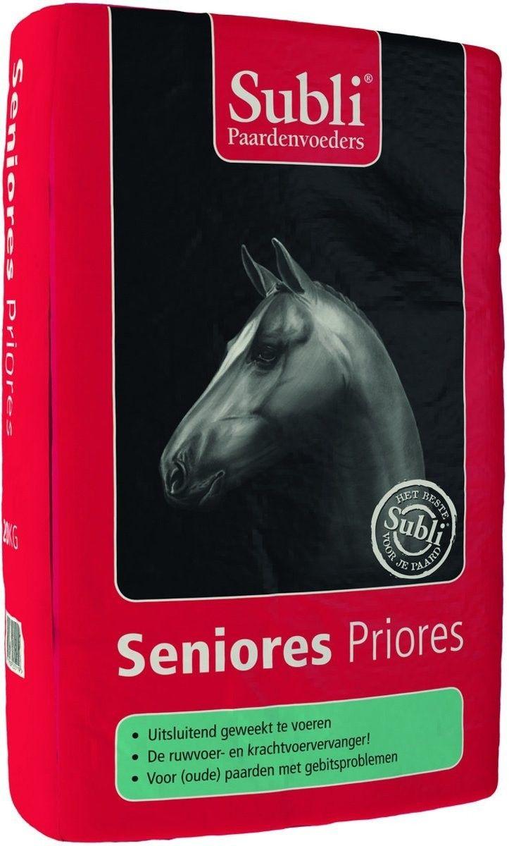 Subli Seniores Priores paardenvoer 20kg