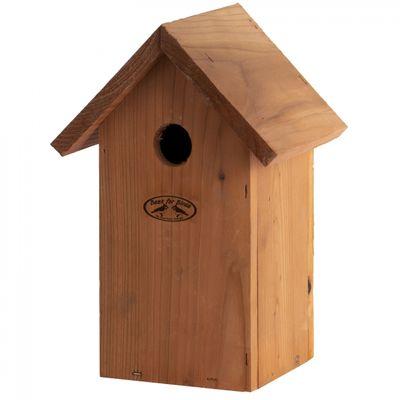 Foto van Nestkast pimpelmees douglas hout