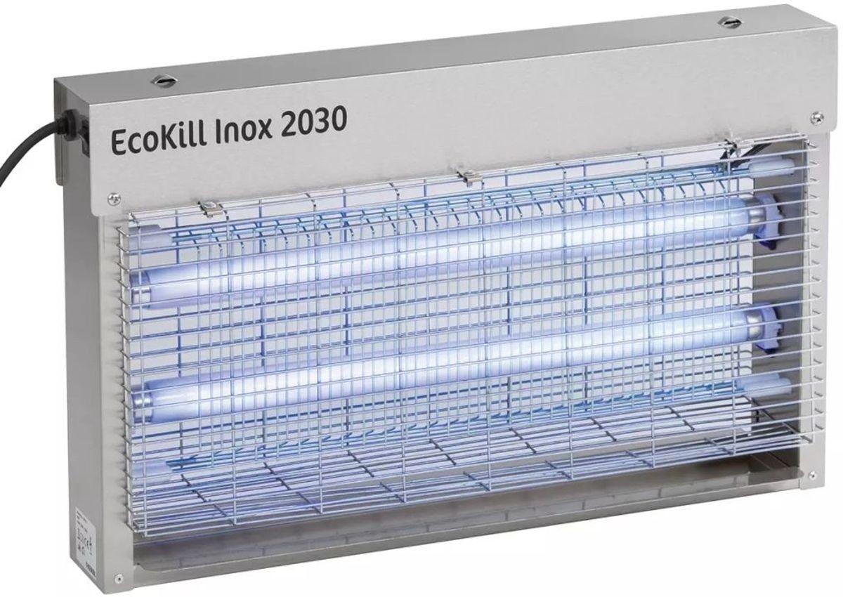 Ecokill Inox 2030 elektrische vliegenvanger (2x15Watt)