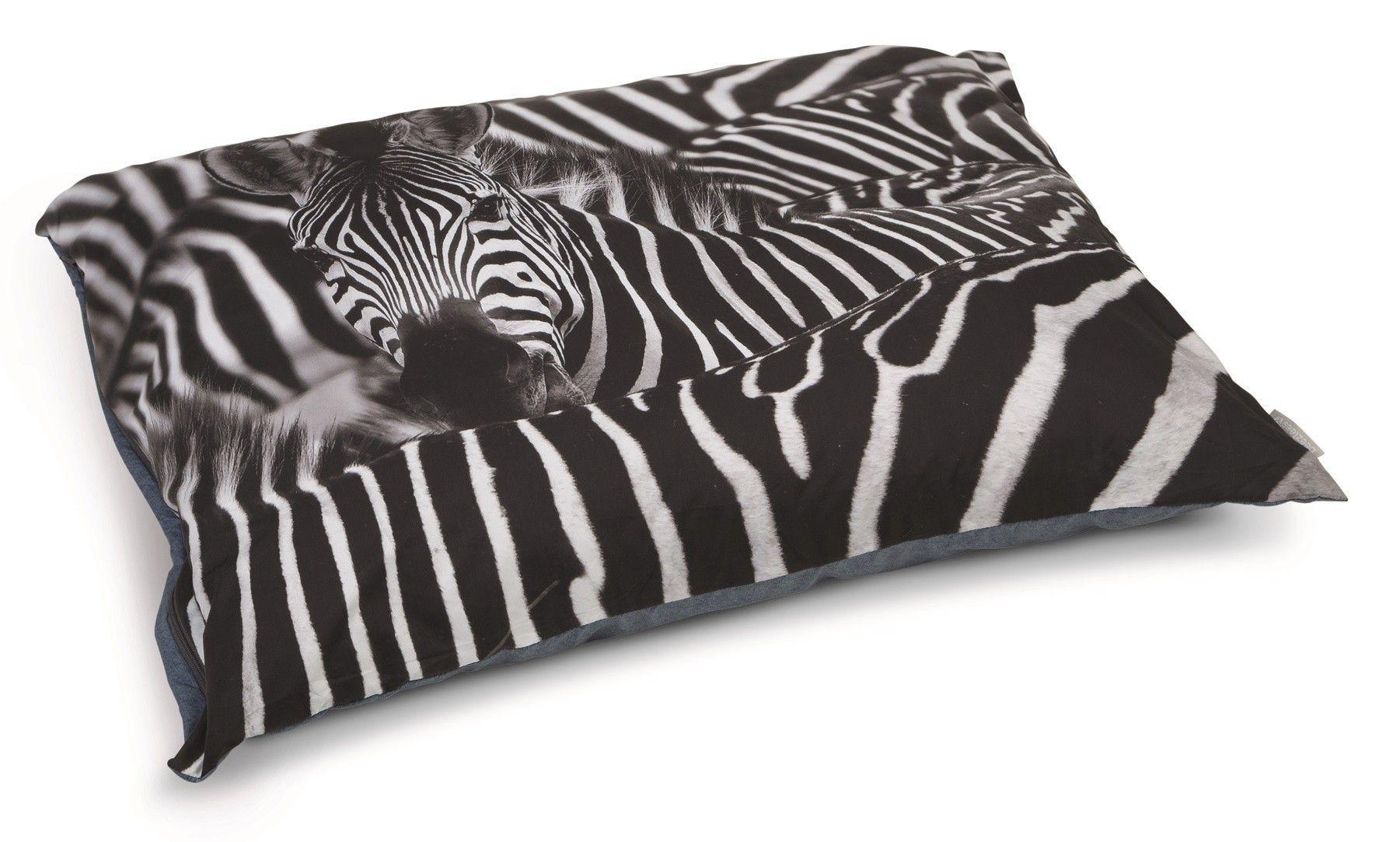 Beeztees hondenkussen Zebra 100x70cm