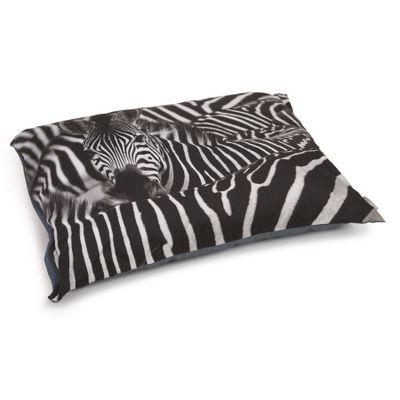 Foto van Beeztees hondenkussen Zebra 100x70cm