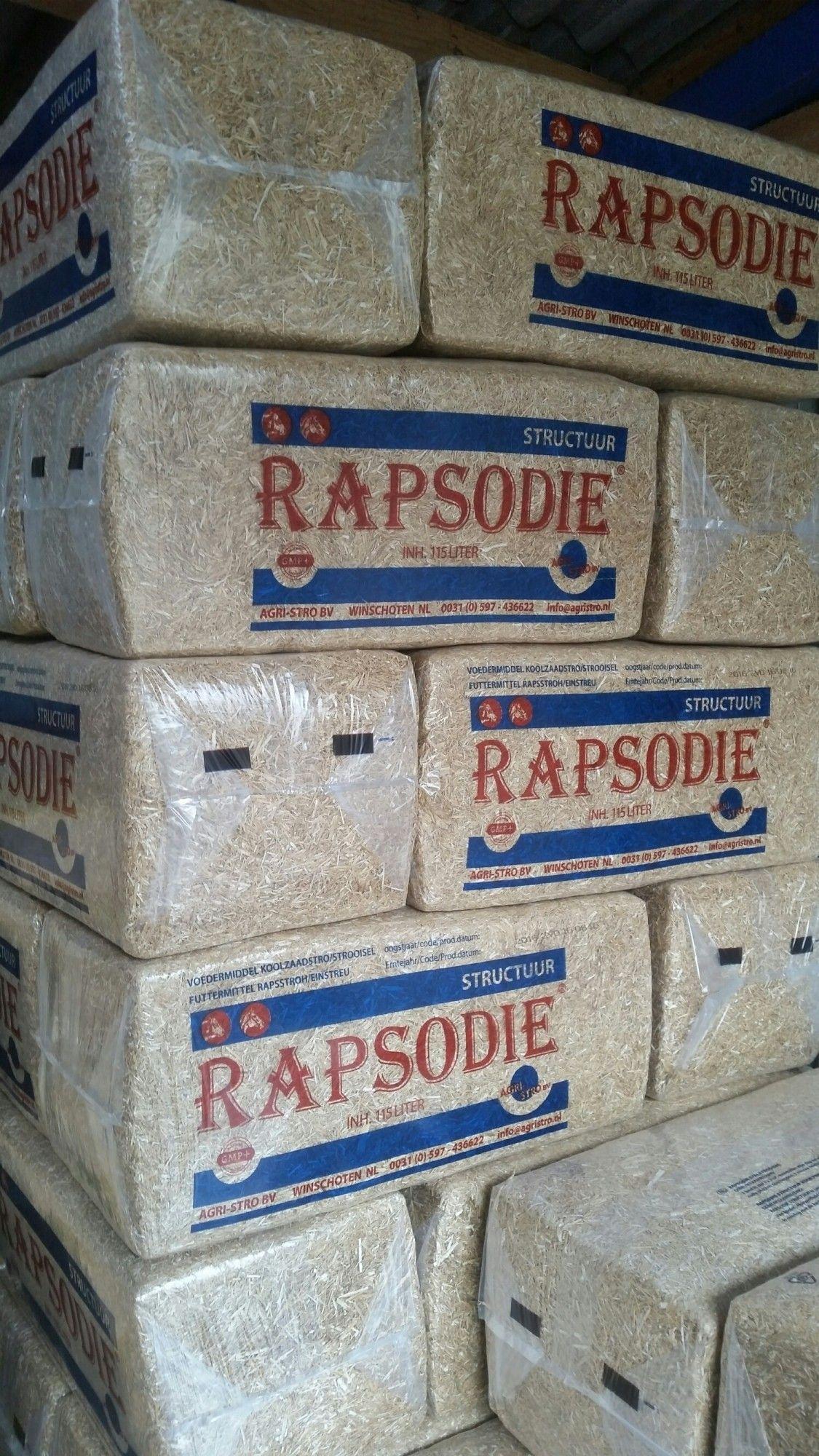 Rapsodie koolzaad strooisel 20kg 48 stuks