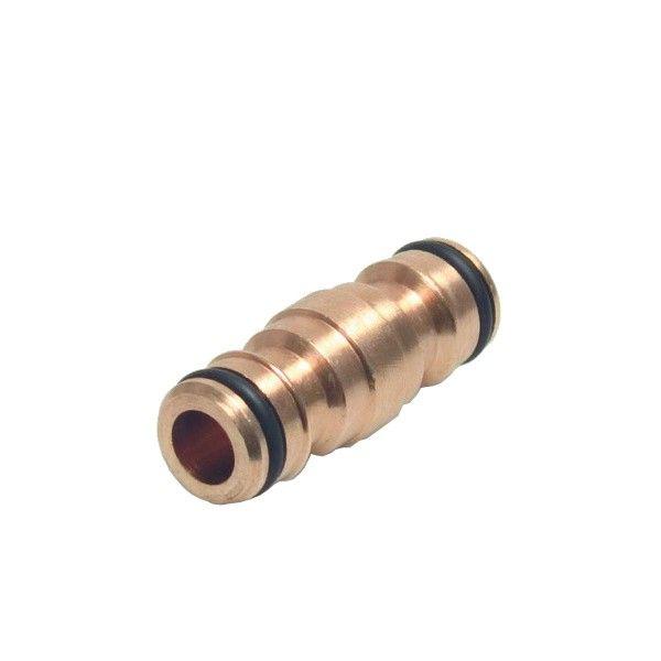 Messing 2-weg slangstuk koppeling 1/2 inch