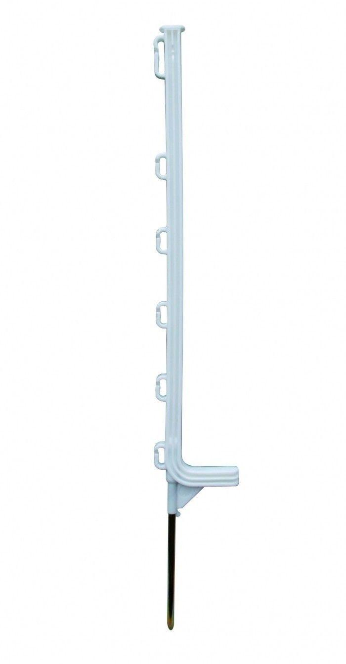 Horizont kunststof weidepaal Extra wit 75cm 10 stuks