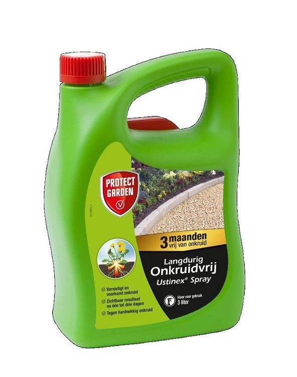 Ustinex onkruid spray 3ltr