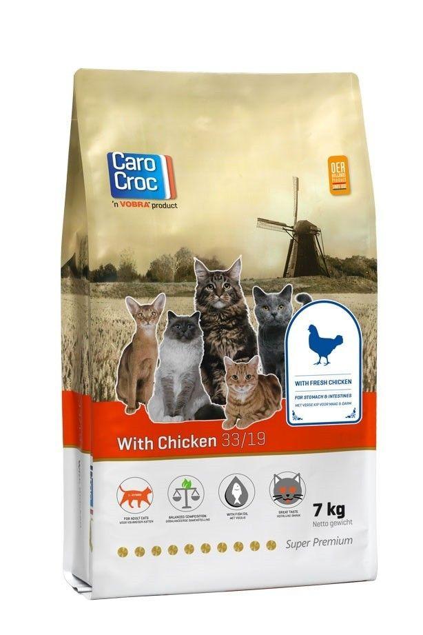 Carocroc kattenvoer Chicken 7 kg