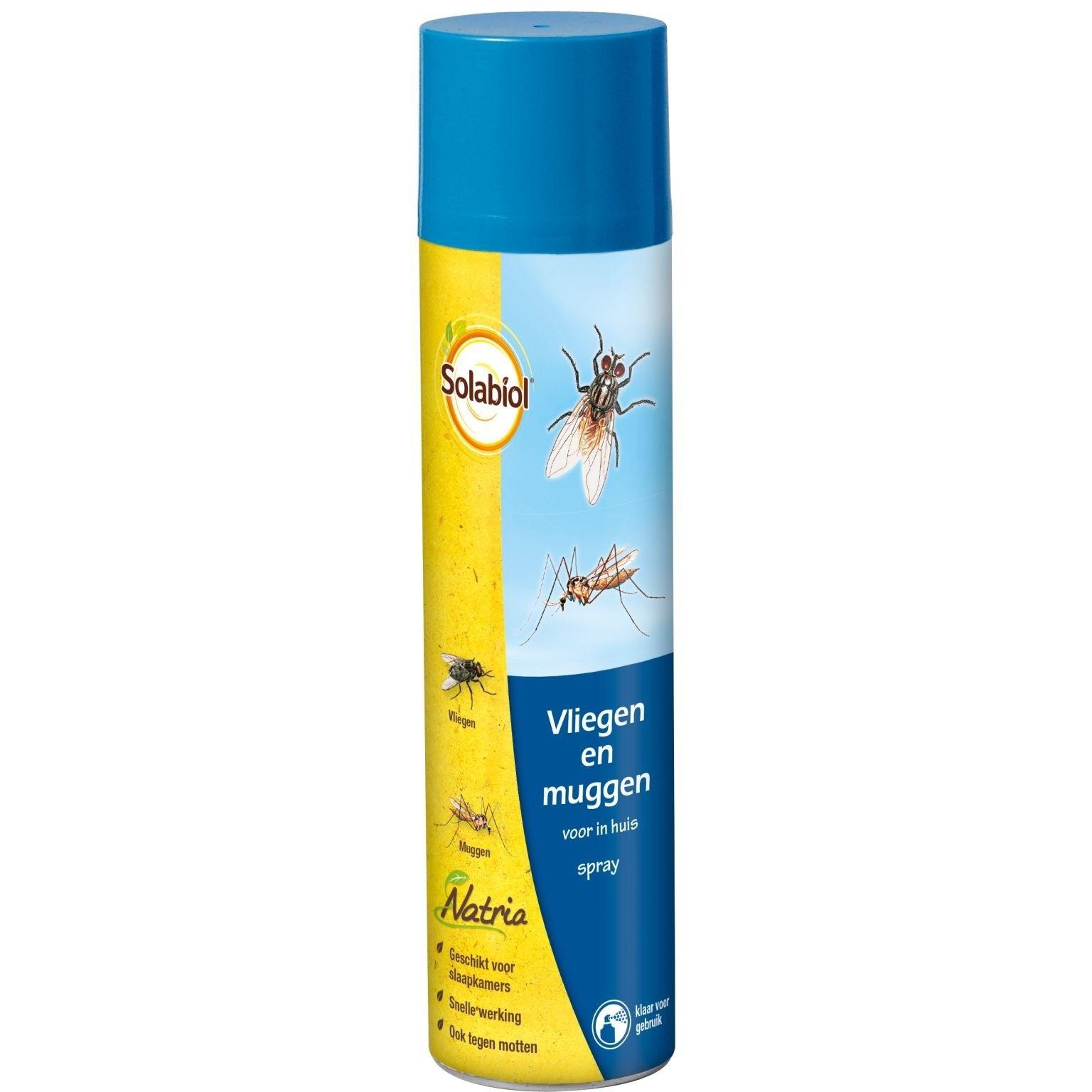 Natria Vliegen & muggenspray 400ml