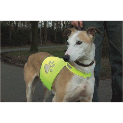 Honden veiligheidsvest reflecterend geel