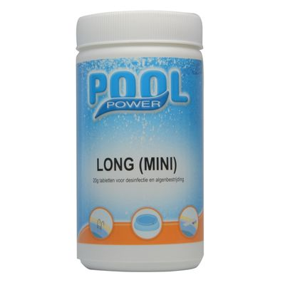 Foto van Pool Power long mini zwembad chloortabletten 1kg