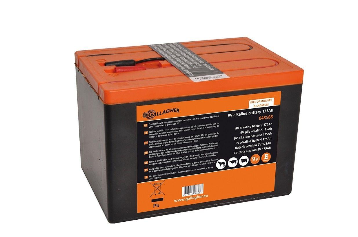 Powerpack 9V batterij 175Ah Gallagher