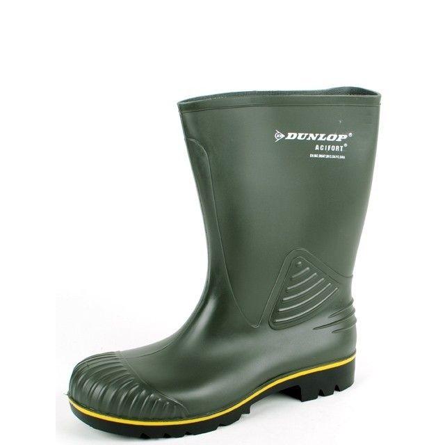 Werklaars Dunlop Acifort kuit groen
