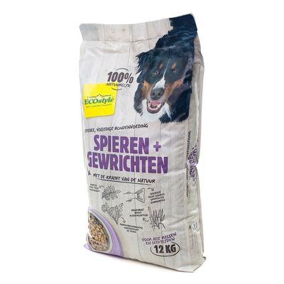 Foto van Ecostyle hondenvoer Spieren en Gewrichten 12kg