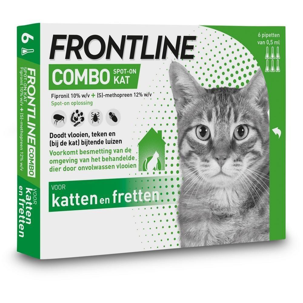 Frontline Combo spot on kat 6 pipet