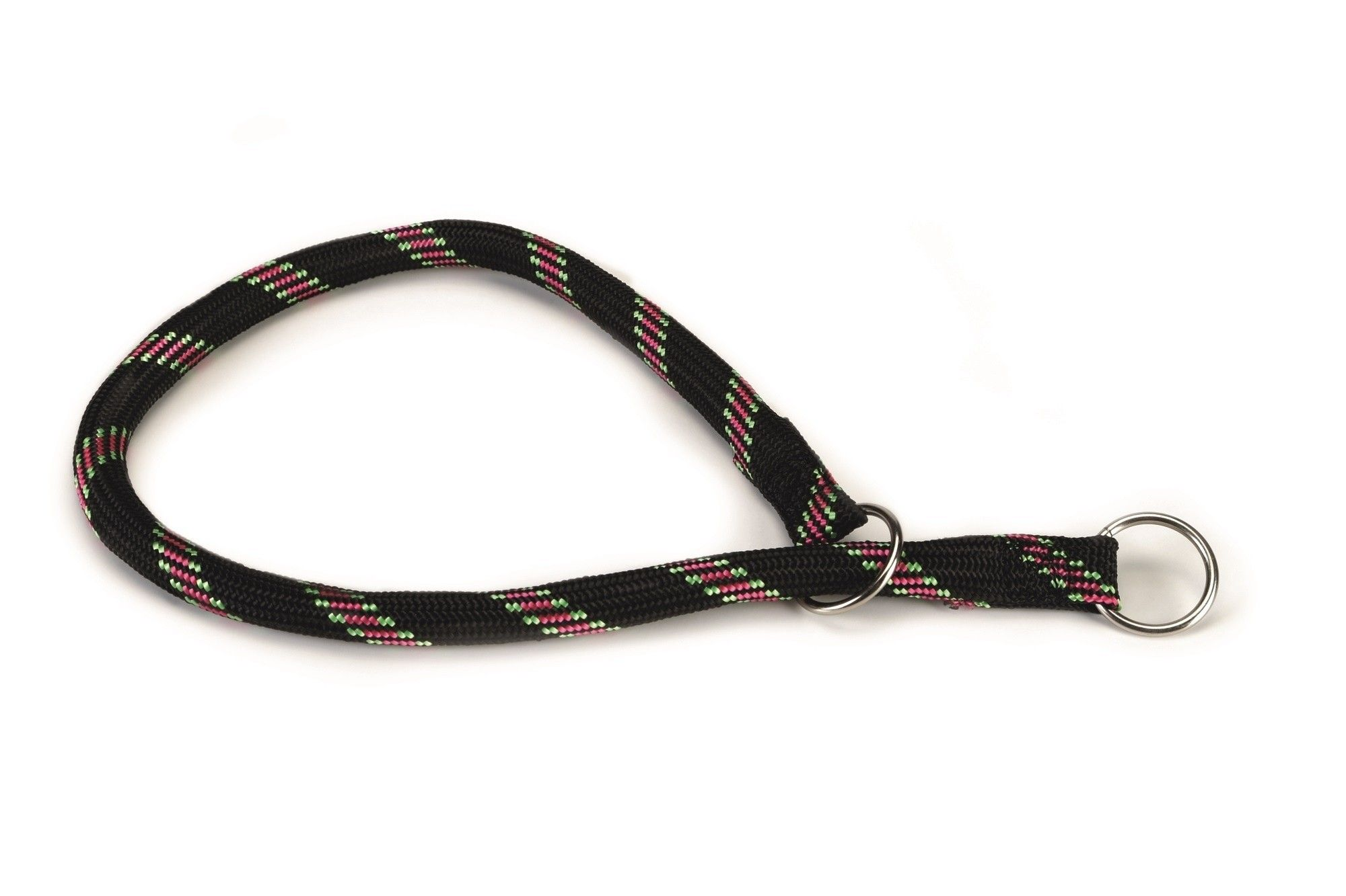 Hondenhalsband rond nylon Beeztees zwart