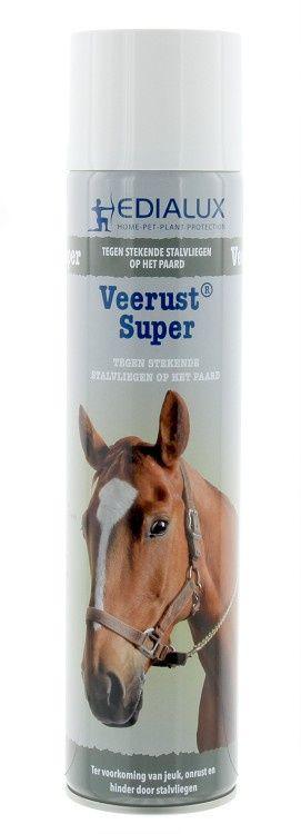 Veerust Super vliegenspray Paard/Rund 600 ml 12 stuks