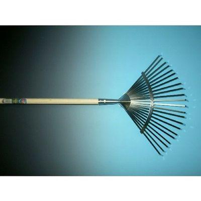 Foto van Bladhark metaal verzinkt 22 tands met 150cm steel