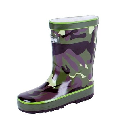 Kinderlaars Camouflage Army