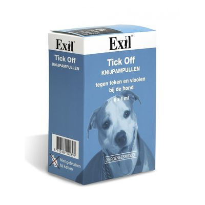 Foto van Tick Off tegen vlooien en teken hond 6 pipet