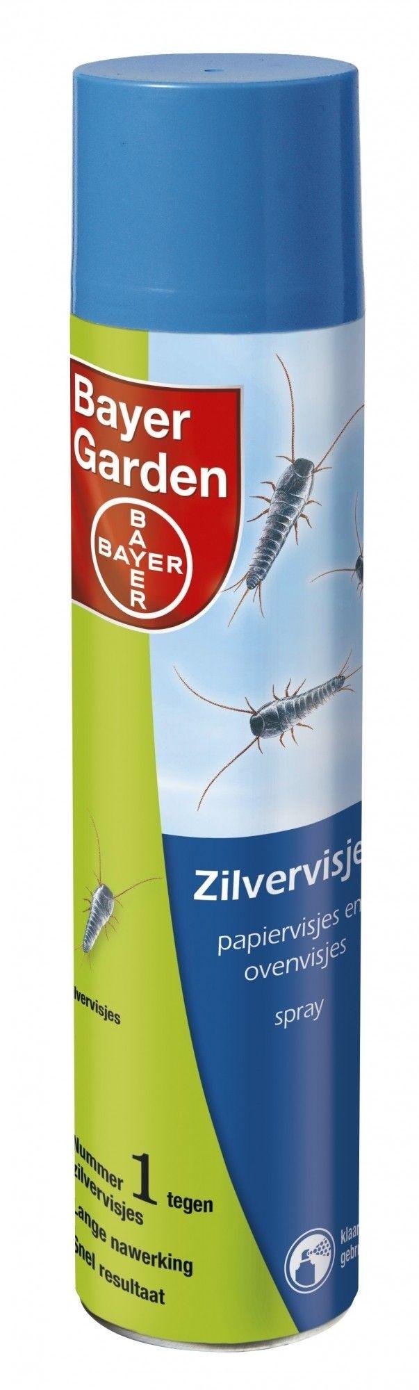 Zilvervisjes spray Bayer 400ml