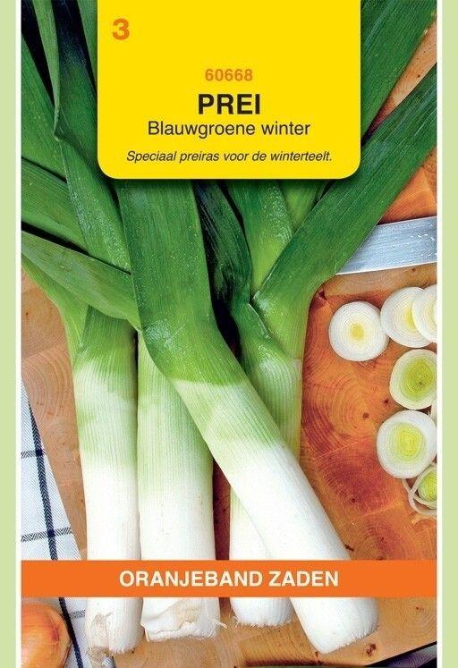 Prei Blauwgroene Winter Farinto Oranjeband