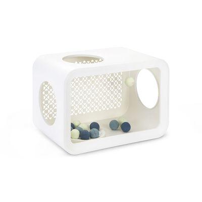 Foto van Beeztees Cat Cube Play Angora White 49