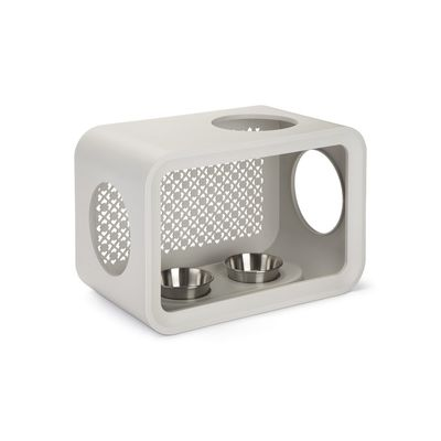 Beeztees Cat Cube Dinner Dune Grey 49