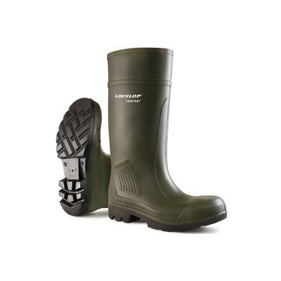 Werklaars / Veiligheidslaars Dunlop Purofort S5 groen