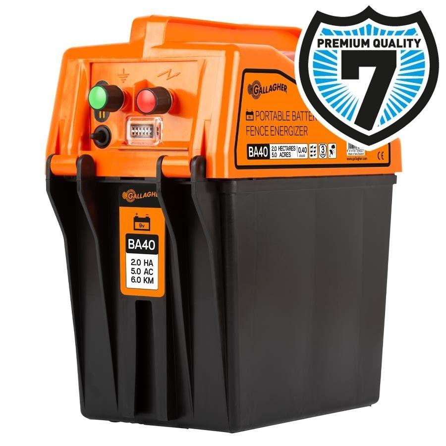 Gallagher BA40 batterij schrikdraadapparaat