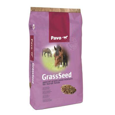 Foto van Pavo graszaad voor paardenweide met kruiden 15kg