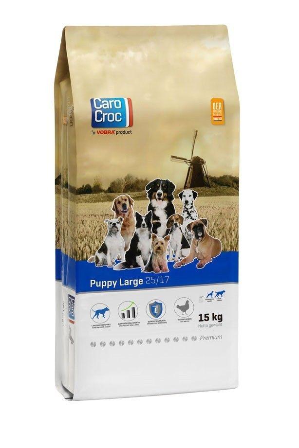 Carocroc Puppy Large hondenvoer 15kg
