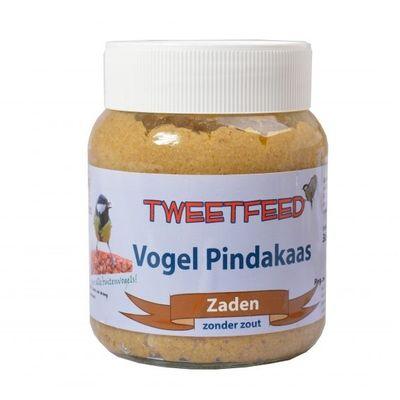 Foto van Vogelpindakaas Tweedfeed met zaden 360gr 12 stuks