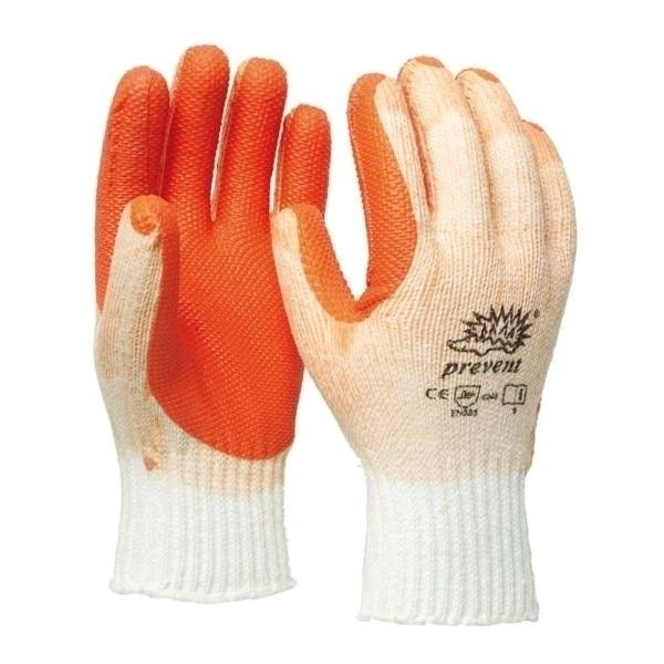 Werkhandschoen Latex Prevent