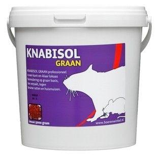 Foto van Knabisol Graan muizen- en rattengif 6kg