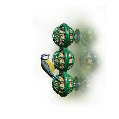 Raamfeeder voor 3 vetbollen