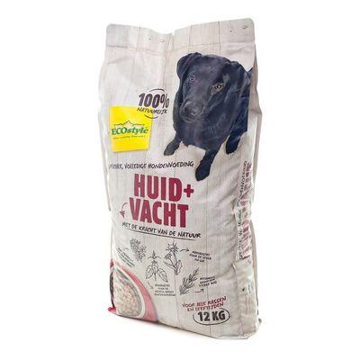 Foto van Ecostyle hondenvoer Huid en Vacht 12kg