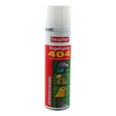 Foto van Vogelspray 404 tegen bloedluis en insecten 250ml