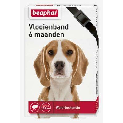 Foto van Beaphar vlooienband hond zwart